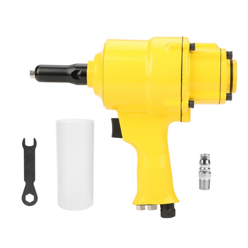 Industrial Double Cylinder Type Air Riveter Pneumatic Nail  Riveting Tool Wholesale