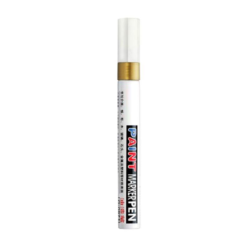 Hot 1pcs Waterproof Professional Car Paint Pen Graffiti Paint Pencil Tire Touch Up Graffiti Pen Sign In Pen Dropshipping