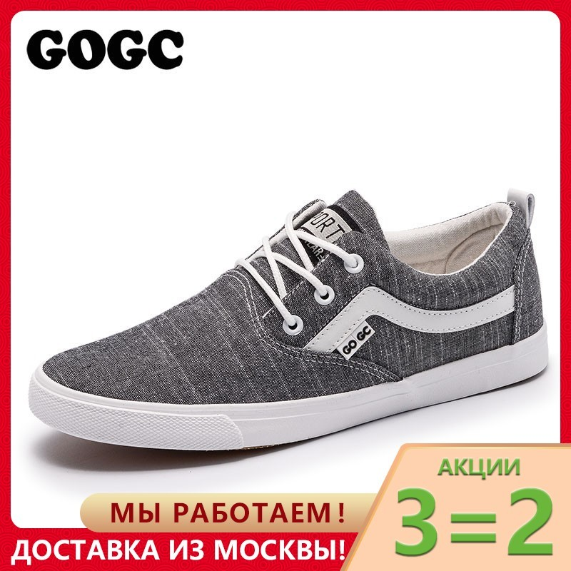 GOGC 2019 New spring Casual Shoes Men Sneakers Canvas Shoes