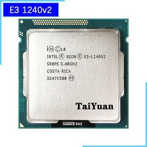 Image 1 - Intel Xeon E3 1240 v2 E3 1240v2 E3 1240 v2 3.4 GHz Quad Core CPU Processor 8M 69W LGA 1155