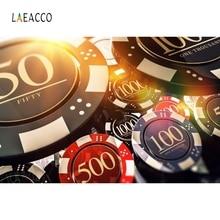 цена Laeacco Las Vegas Shiny Chips Casino Entertainment Backdrop Photography Background Photographic Backdrops For Photo Studio в интернет-магазинах