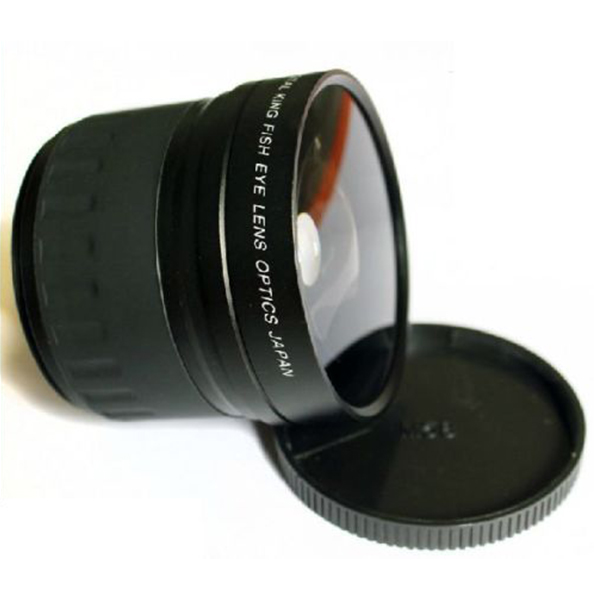 Image 2 - 58mm 0.21X Fisheye Wide Angle Macro Lens For Canon Nikon All Dslr Camera-in Camera Lens from Consumer Electronics