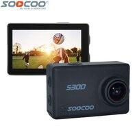 SOOCOO на S300 4 К 30fps 1080 P 120fps действие Камера 2,35 дюймов Сенсорный экран Bluetooth Remote Управление Водонепроницаемый видеокамера WiFi Sport