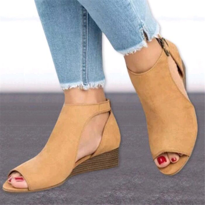 Spring New Women Shoes Flat Platform Casual Shoes Leather Female Fashion Classic White Shoes Increased Girls Plus Size in Middle Heels from Shoes