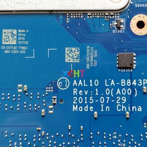 Image 5 - CN 0V2X3C 0V2X3C V2X3C AAL10 LA B843P w I7 5500U GT920M GPU لديل انسبايرون 5458 5558 5758 مفكرة اللوحة المحمول اختبارها