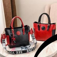 Fashion PU Leather Handbag For Women Ladies Retro Messenger Bags With Star Toy Female Shoulder Party Handbags