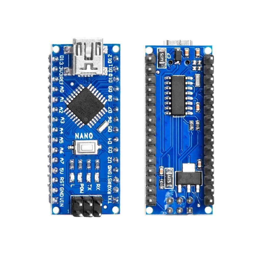 Pour Arduino Nano Mini USB avec chargeur de démarrage pour Arduino nano 3.0 contrôleur pour Arduino CH340 USB driver 16 Mhz Nano v3.0 ATMEGA328