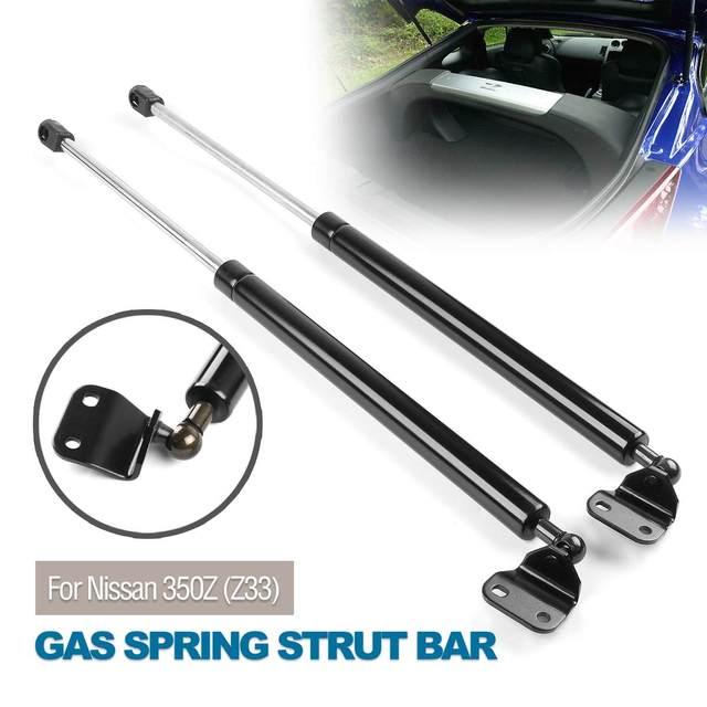 2 x portón trasero puntal de Gas Bar maletero apoyo con Spoiler para 350Z Z33