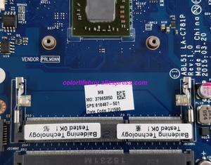 Image 3 - Genuine 818487 501 818487 001 818487 601 R5M330/1GB A6 6310 ABL51 LA C781P Laptop Motherboard for HP 15 AF Series NoteBook PC