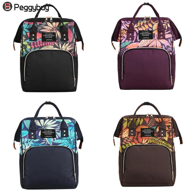 New Designer Mummy Maternity Nappy Bag Large Capacity Baby Bag Travel Backpack Nursing Bag For Infant Care