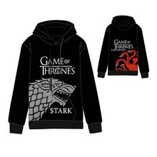 Hot New Game of Thrones Cosplay Hoodies Standard Hooded  Winter Tops Unisex funny Sweatshirts