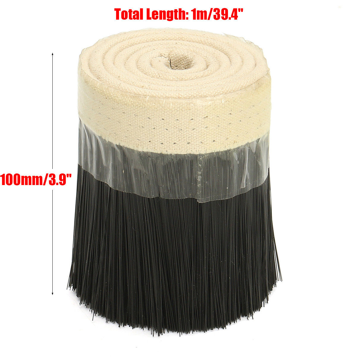 70mm/100mm Nylon Brush Vacuum Cleaner Engraving Machine Dust Cover CNC Router Outdoor For Spindle Motor