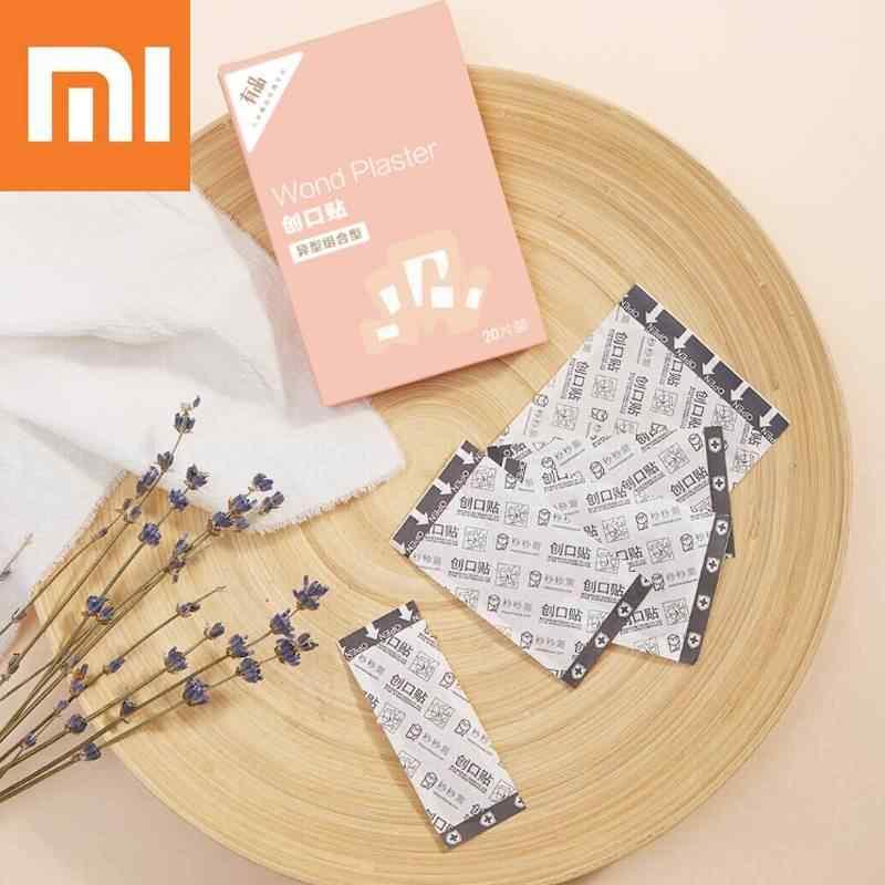 Xiaomi 20 шт./лот клейкая повязка для бандажа-аптечка первой помощи нетканый Woundplast открытый инструмент для здравоохранения