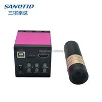 Repair of 1080P 16MP HDMI USB Industrial Microscope Camera+100X 200X C LensTF Card Storage Laboratory Applied Mobile Phone Board