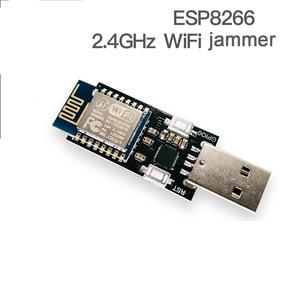 Image 2 - DYKB ESP8266 WiFi KILLER ، جهاز تشويش شبكة لاسلكية ، لوحة تطوير CP2102 ، إيقاف التشغيل التلقائي ، 4 وحدة Pflash ESP12