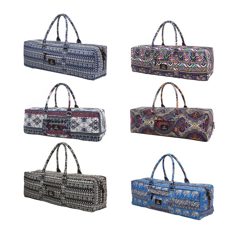 1PC Men And Women Yoga Bag Fitness Multi-functional Waterproof Sports Canvas Bag Large Capacity Yoga Mat Special Bag
