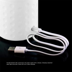Image 5 - خلاط المحمولة ، خلاط عصائر USB كوب لصنع العصائر ، 17oz آلة خلط الفاكهة مع 4000mAh بطاريات قابلة للشحن ، انفصال C