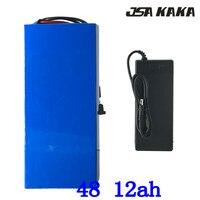 Bateria elétrica 48 v da bicicleta do lítio da bateria 48 v ebike para 48 v 500 w 750 w 1000 w w motor 48 v bateria 48 v 4ah 6ah 8ah 10ah 12ah 13ah