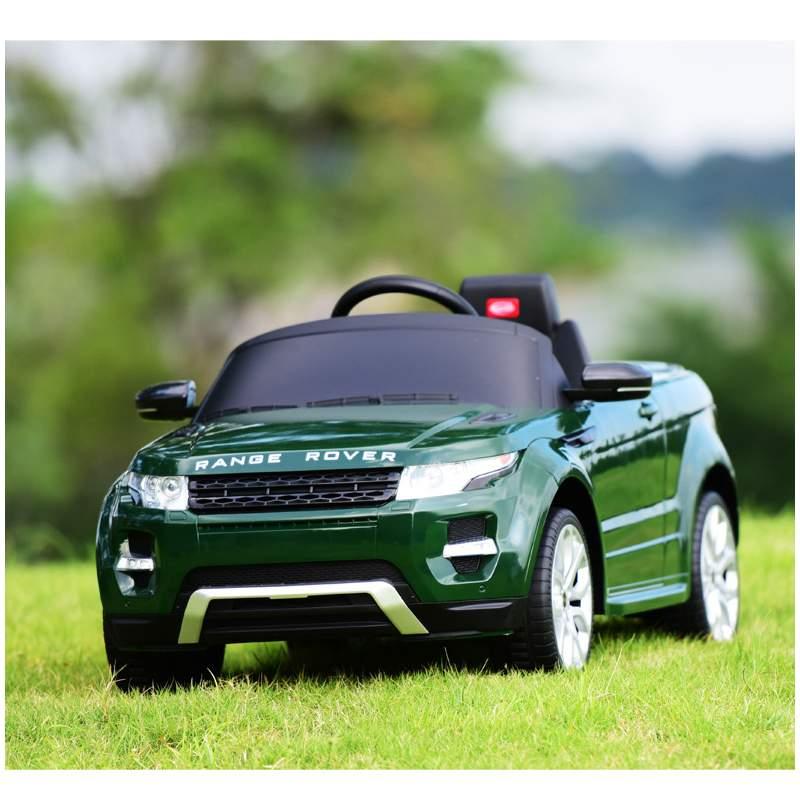 Poussette électrique à quatre roues pour enfants balade en voiture jouet peut s'asseoir sur une voiture télécommandée à double entraînement