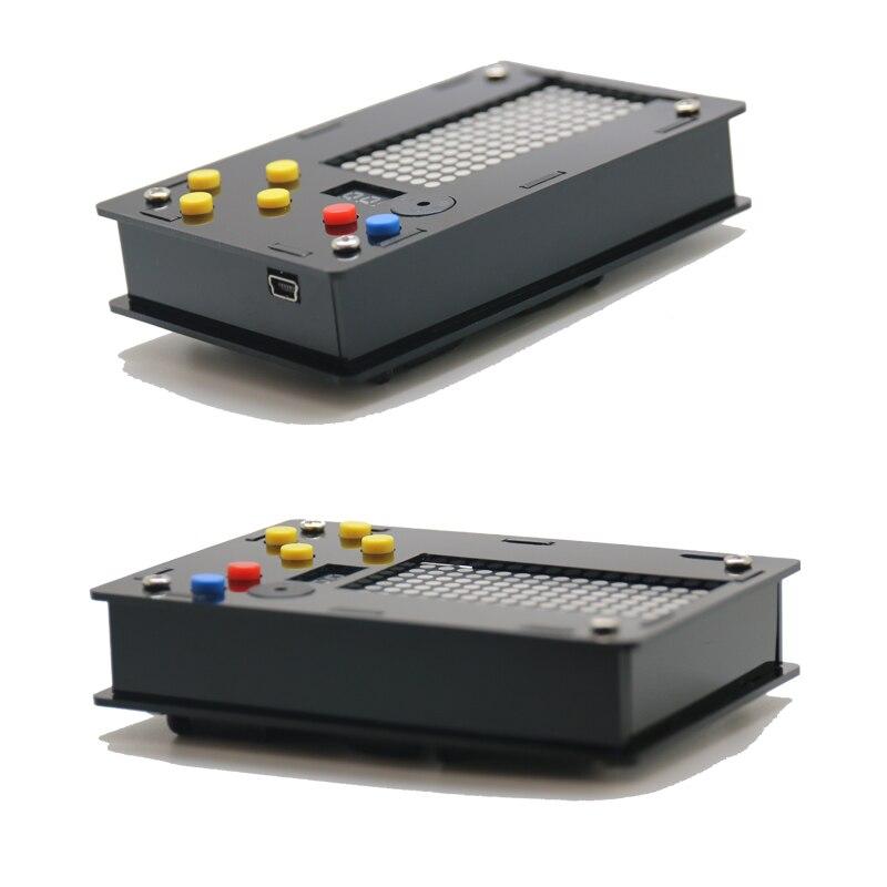 Преимущество оптовая торговля электронный DIY набор 8x16 матричный игровой автомат для тетрис/змея/выстрел/гонки с акриловым Diy Набор электрон... - 3