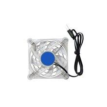 8cm Mobile Phone Cooler Fan Cooling Pad Gamepad Game Gaming Shooter Mute Radiator Controller Universal Handgame USB Heat Sink