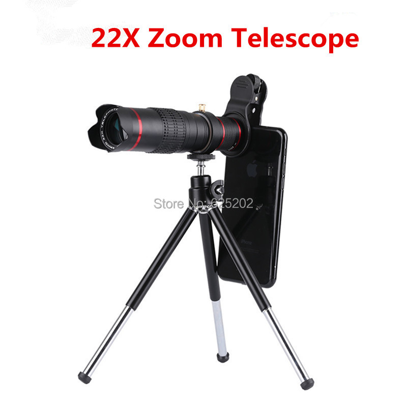 Universal 22X Zoom Telephoto Lens for Mobile PhoneUniversal 22X Zoom Telephoto Lens for Mobile Phone