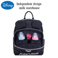 Disney backpack Mummy bag PU material multi function large capacity baby travel fashion mother bag portable maternal package