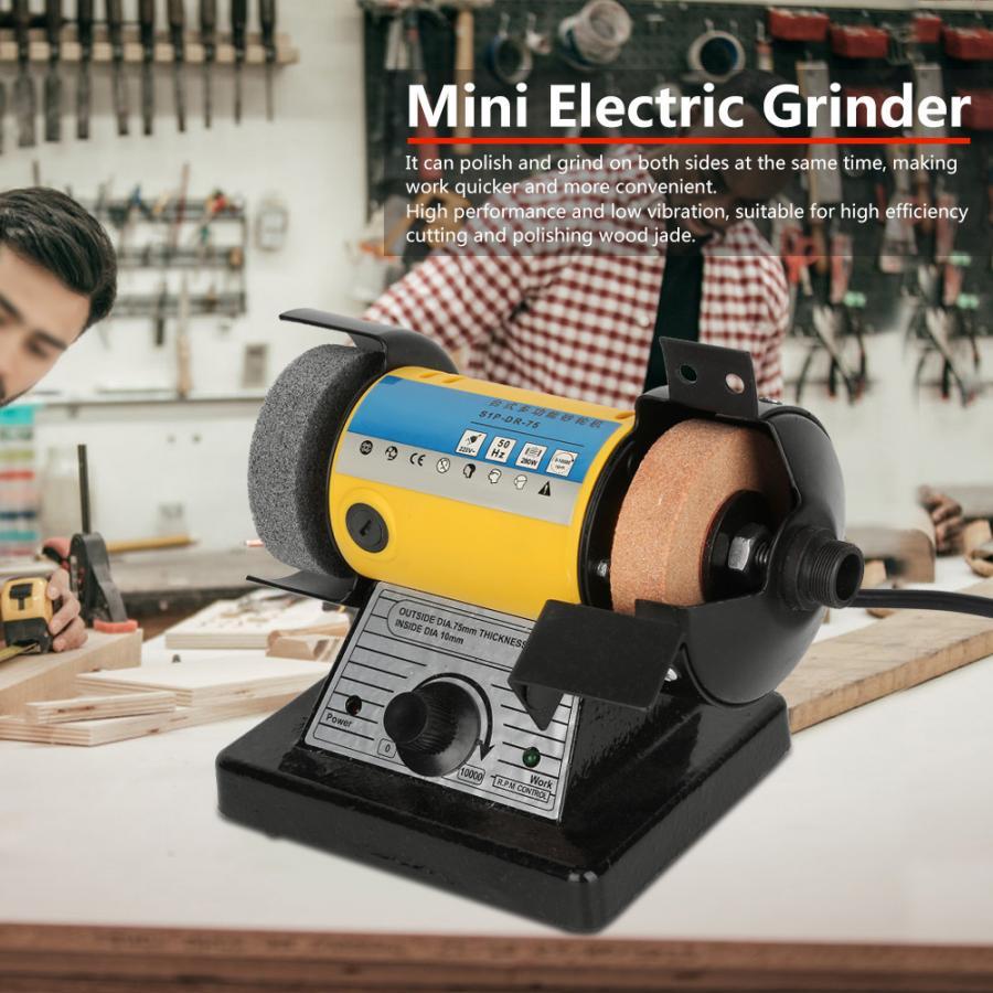 Набор для резьбы, многофункциональная Мини электрическая шлифовальная машина для резьбы по дереву, столу, 10000 об/мин, ручные шлифовальные инструменты, деревянные столы - 2