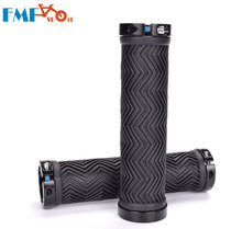 FMF Soft Rubber Bike Double Lock Grips Antiskid Bicycle Handlebar Mountain MTB Road Bar