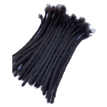 YONNA человеческие волосы дреды микрозамки сикерлоки дредлоки наращивание волос 40 Locs полностью ручной работы натуральный черный# 1B(ширина 0,4 см