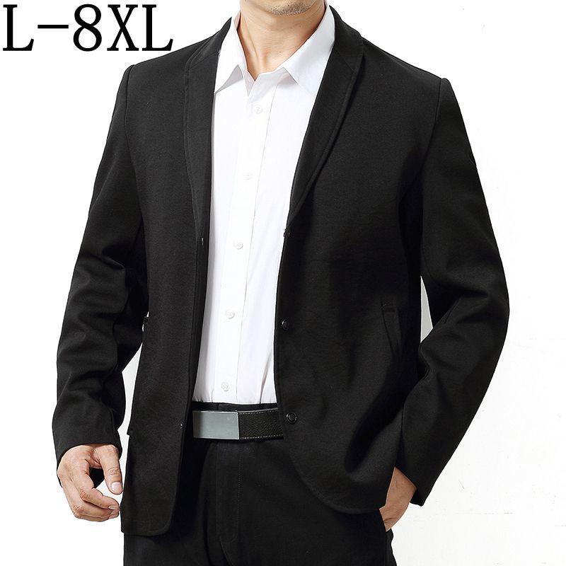 Size 6XL 7XL 8XL 2018 New Arrival Business Mens Blazer Casual Blazers Men Formal Jacket Popular Design Men Dress Suit Jackets