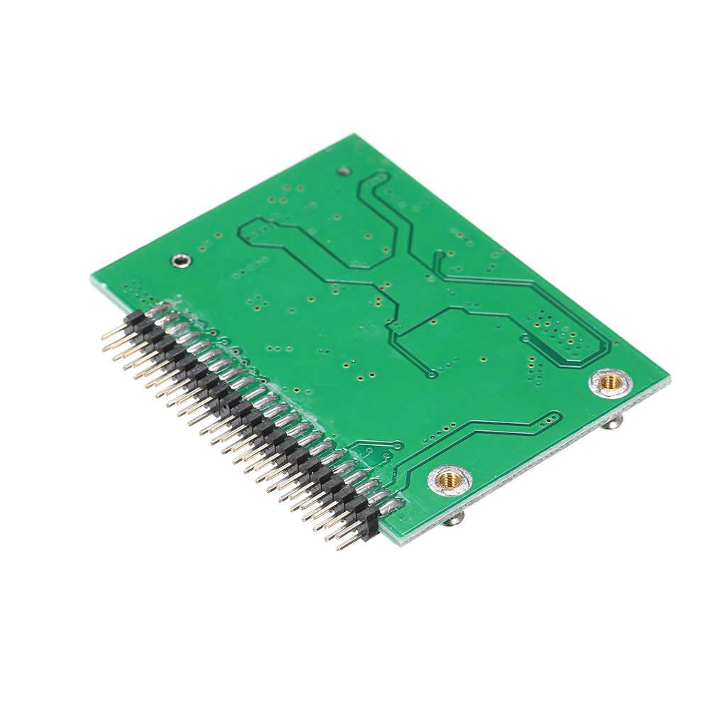 MSATA (PCI-E) SSD do 2.5 ''44Pin IDE konwerter Adapter, jak 2.5 Cal IDE dysk twardy dla laptopa 5 V