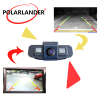Car parking rear view camera Fit For Honda Spirior 2009 2010 Waterproof Wired CCD Car reverse reaview camera HD