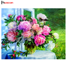 Diamond Embroidery Flower Serise Wall Art 5D Mosaic Floral Pattern Needlework Crafts Handmade Gift DIY Home Decor