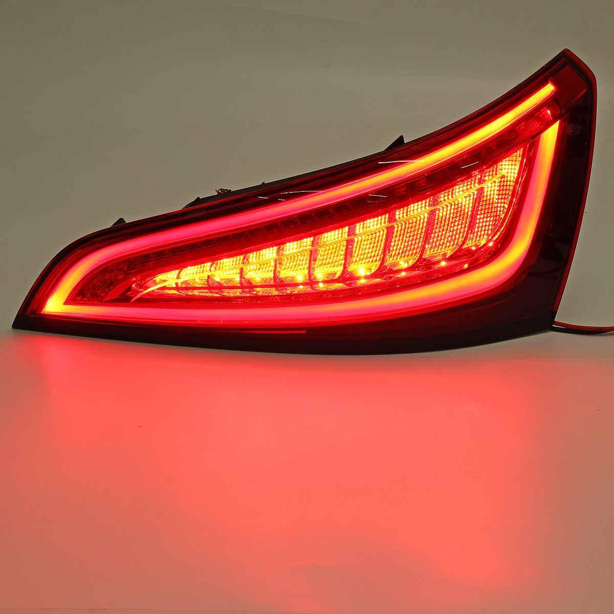 Paire feu arrière LED feu clignotant feu de frein arrière feu arrière pour Audi Q5 2009 2010 2011 2012 2013 2014 2015