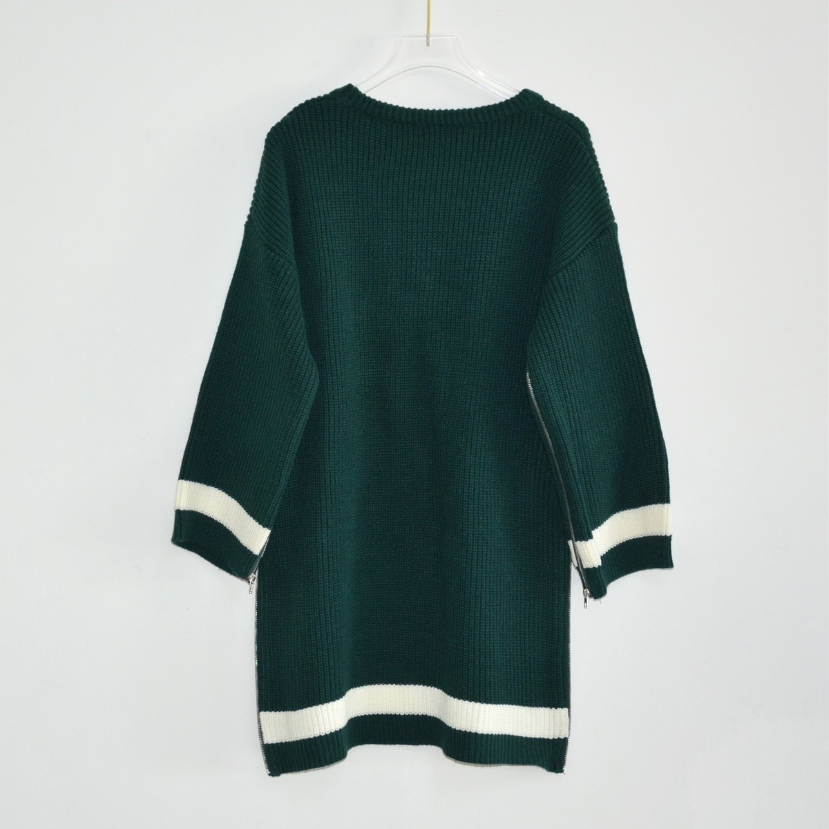 En Mode Vert À Stock Chandail Green Manches Femmes Noirâtre Hiver Pulls Longues Automne Et Blackish 2018 Irrégulière Haute Qualité Nouvelle Chandails C0nSwzOrC