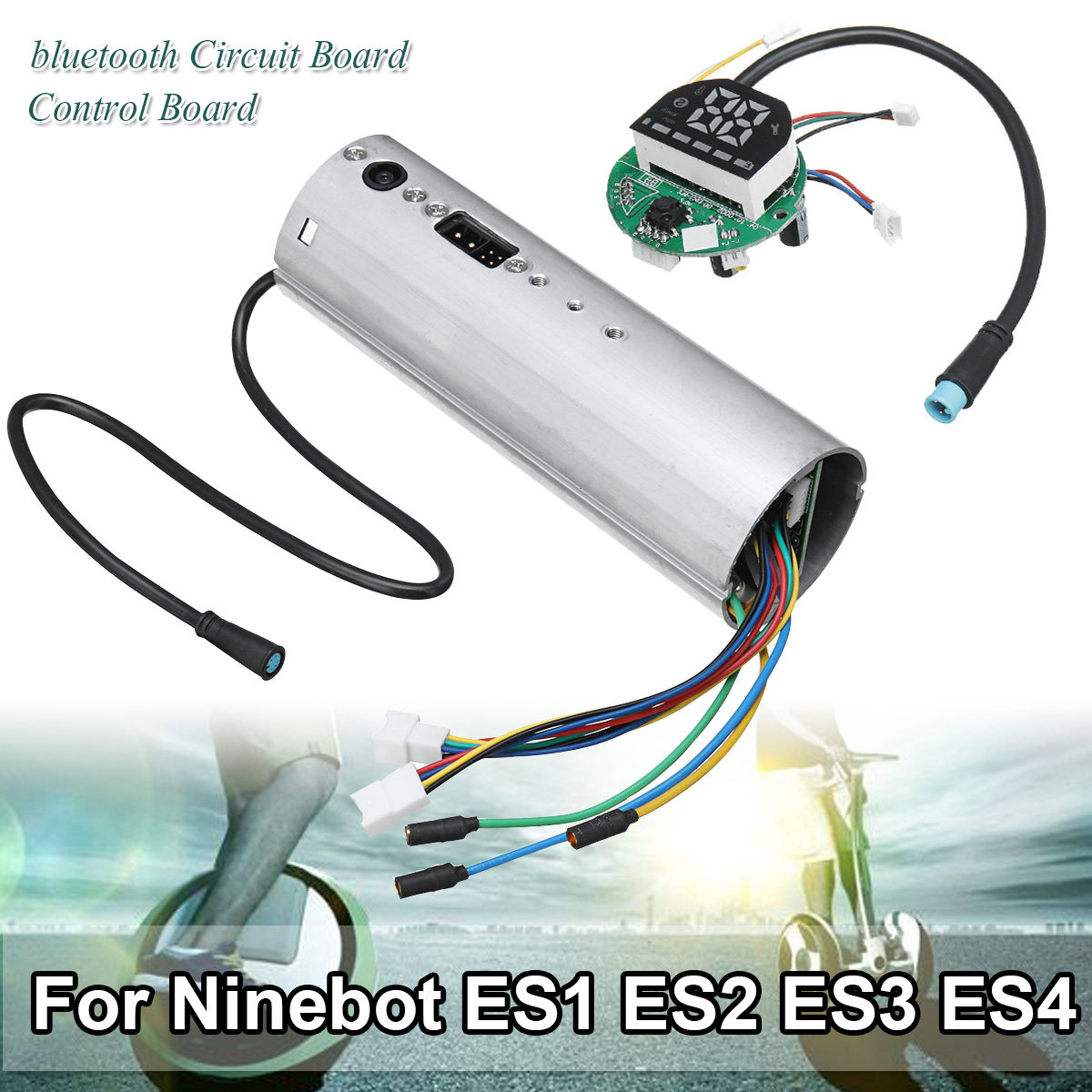 Scooter électrique bluetooth Circuit tableau de bord carte mère contrôleur pour Ninebot ES1 ES2 ES3 ES4 pièces de Scooter