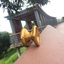 MagiDeal 1 Набор крутой алюминиевый профессиональный китайский йо-йо шарикоподшипник струны трюк сплав для подарок для взрослых и детей игрушка золото