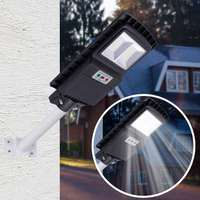 New 40W LED Wall Lamp Street Light Radar motion 3 In 1 Constantly bright & Induction Solar Sensor Light Remote Control Outdoor