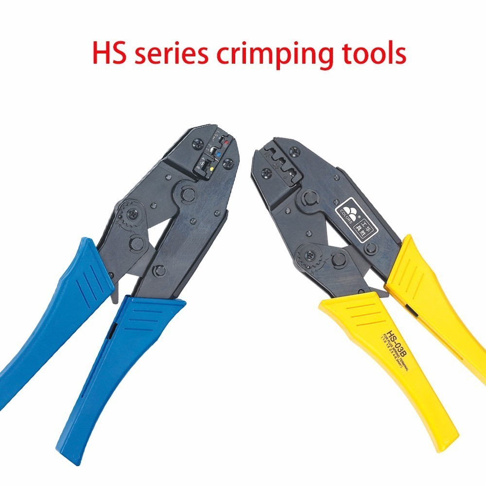 Crimp Pliers Multi Hand Tools Insulation Uninsulated Flag Female Tab 2.8 4.8 6.3 Terminals Crimping 9 Inch Free Shipping image