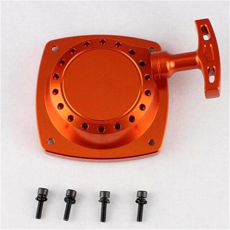 1 Set Rovan 95174 CNC démarreur à tirette en métal avec intérieur pour 29/30. 5cc 1/5 HPI Baja 5 T 5SC 5B CY Zenoha - 6