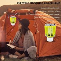 ALLOET Multifunctional USB Charging Electric Mosquito Killer Lamp Anti Mosquito Fly Bug Insect Trap Pest Repeller Waterproof