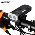 USB передний велосипедный фонарь 2 * светодиодный велосипедный фонарь перезаряжаемый Встроенный аккумулятор для езды на велосипеде MTB фара 5 ...