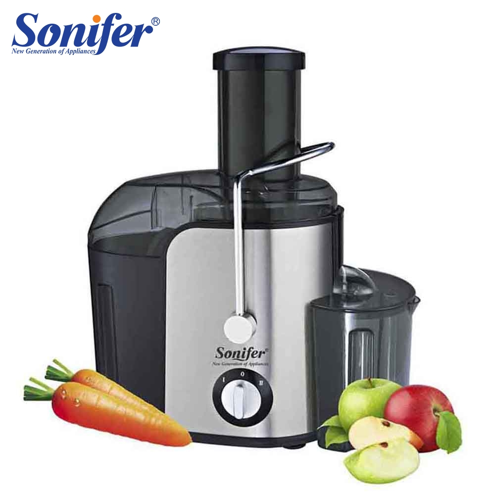 2 Speed Large Size Stainless steel Juicers Fruit And Vegetable Juice Extractor Removable Fruit Drinking Machine For Home Sonifer2 Speed Large Size Stainless steel Juicers Fruit And Vegetable Juice Extractor Removable Fruit Drinking Machine For Home Sonifer