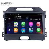 Harfey 2Din Android 8.1/9.0 9 Car Radio For KIA Sportage 2010 2011 2012 2013 2014 2015 GPS Auto Stereo Car Multimedia Player
