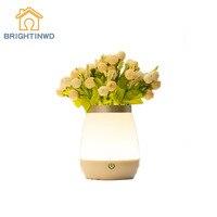 BRIGHTNWD Vase Nacht Lampe Cartoon Hause Neue Phantasie Beleuchtung USB Nachtlicht Hause Dekoration Multi funktionale Dekoration LED Lampe-in LED-Nachtlichter aus Licht & Beleuchtung bei