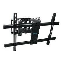 ТВ Кронштейн Kromax GALACTIC-56 (Для LED/LCD телевизоров 32-75 дюймов,нагрузка до 60 кг,наклон +5° -10°, поворот 180,уровень)