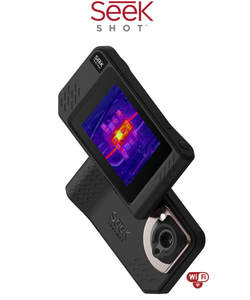 Image 2 - Seek Thermal SHOT / SHOT PRO Imaging Camera infrared imager Night Vision photos/video/Large Touch Screen/206x156 or 320x240/Wifi