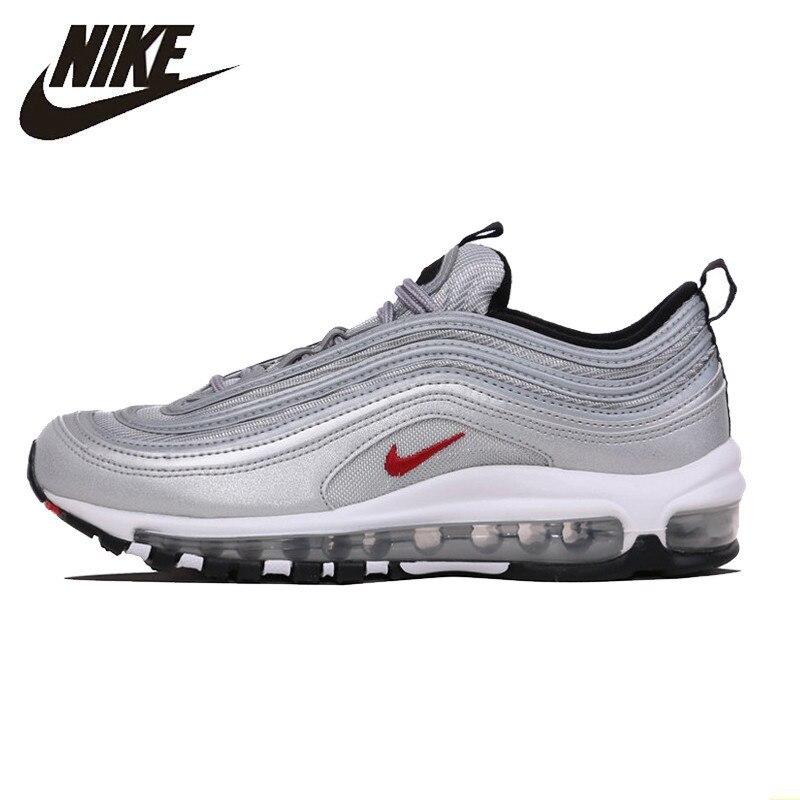 NIKE AIR MAX 97 OG QS nouveauté Original chaussures de course pour hommes coussin baskets d'extérieur #884421-001