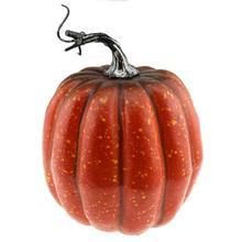 Gresorth 15 cm Fake High Quality Pumpkin Dark Orange Artificial Food Home Party Decoration